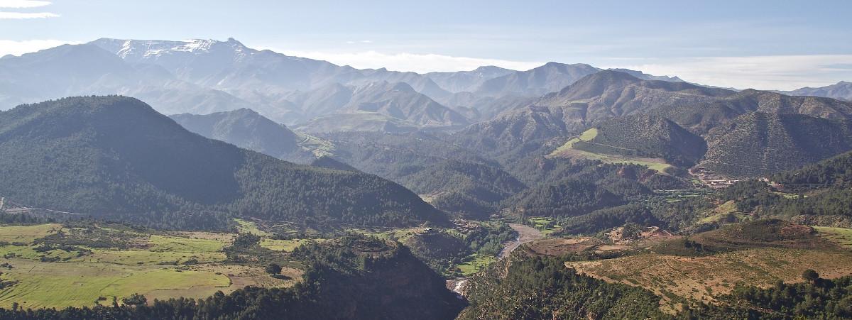 Atlas Gebirge Wandern Afrika
