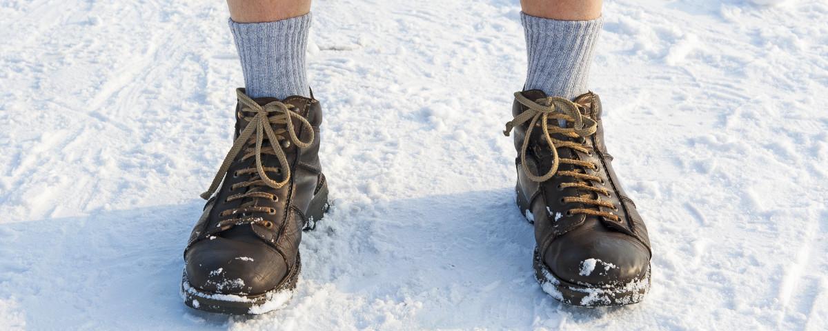 Beheizbare Innensohle - Schuhheizung