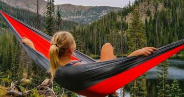 Hängematte Camping