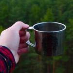Kaffee beim Zelten und Campen