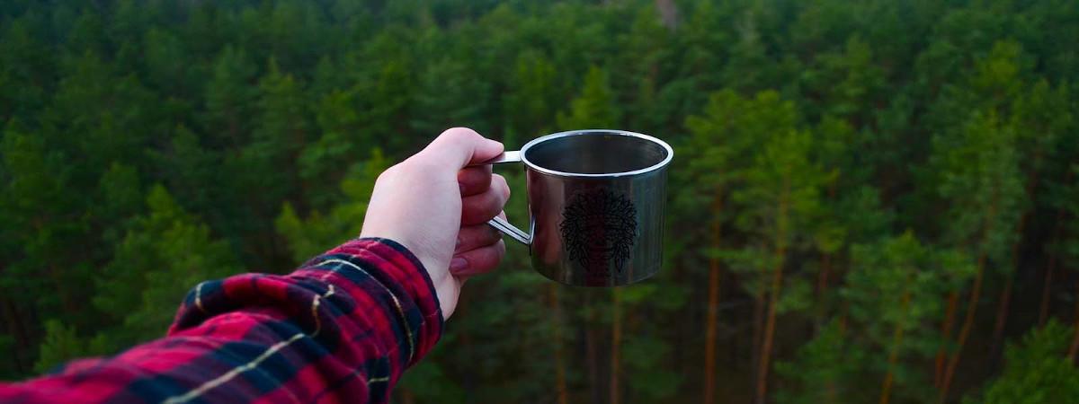 Kaffee beim Zelten