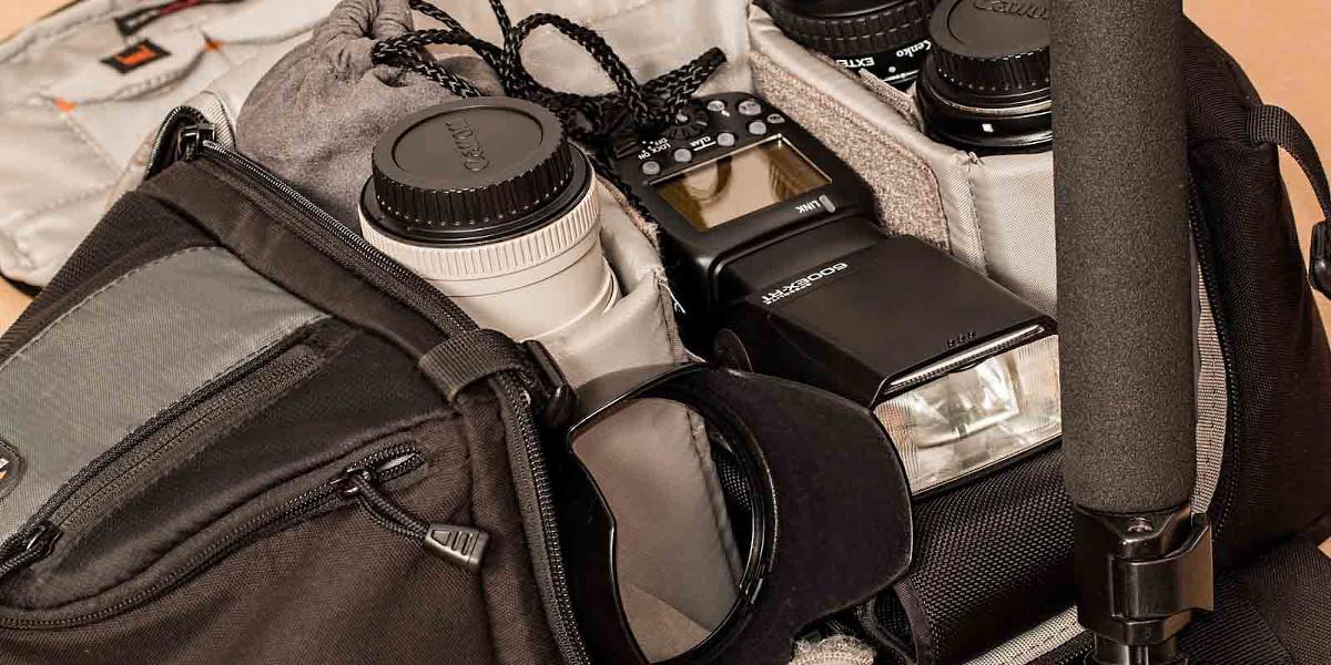 Kamerarucksack für den Outdooreinsatz