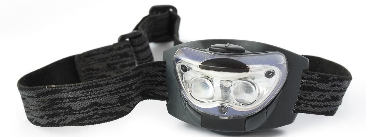 Kopflampe Stirnlampe