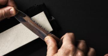 Outdoor-Messer schärfen und pflegen