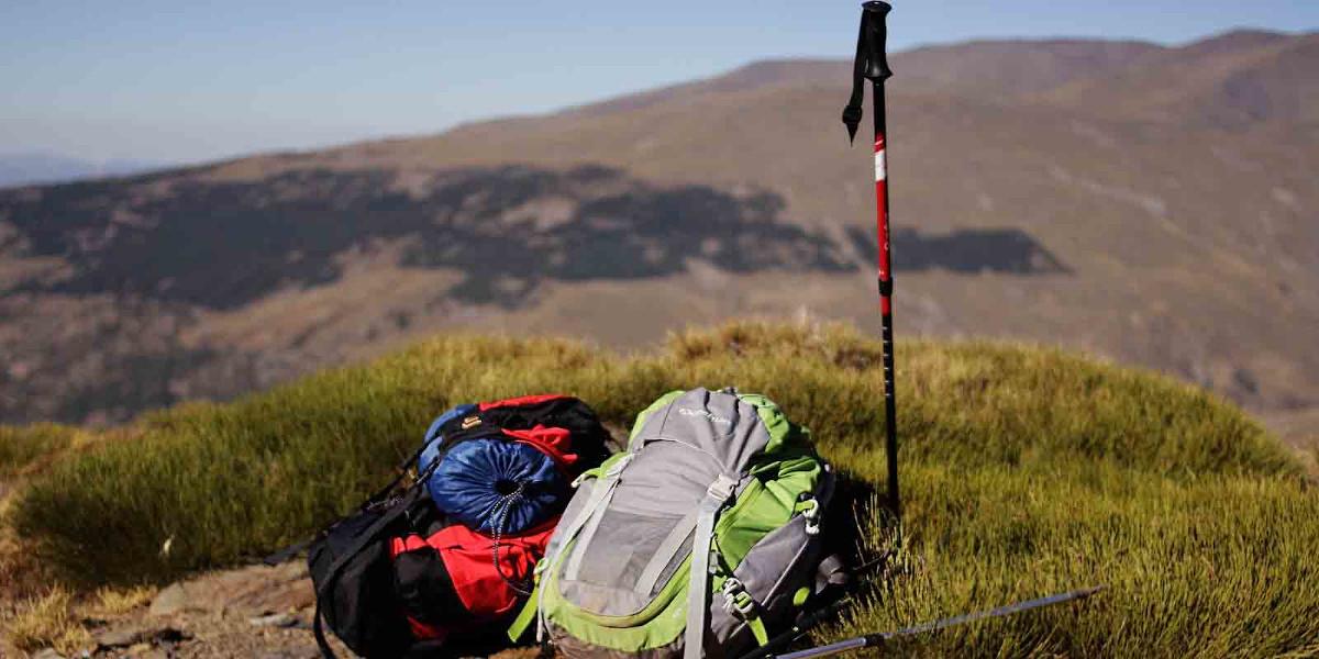 Trekkingstock fürs Gebirge