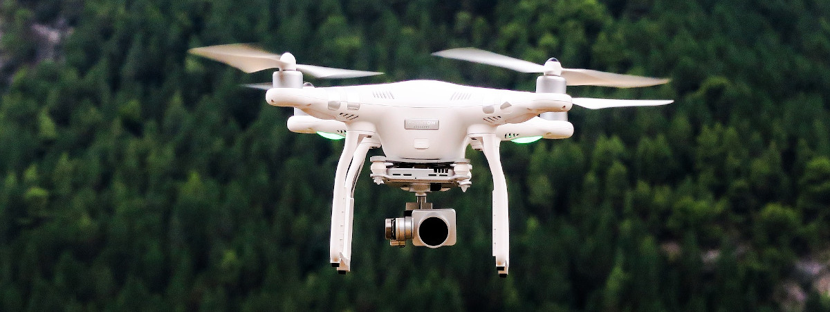 Wanderungen mit Drone dokumentieren und aufzeichnen