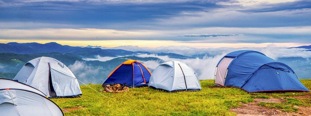 Zelt aufbauen - wo und wie