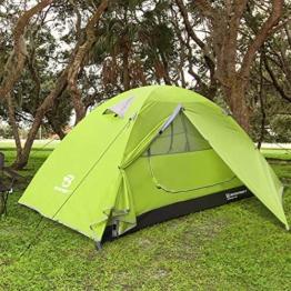 Bessport Zelt 1 Person Ultraleichtes Camping Zeltmit Mückenschutz