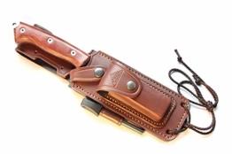 CELTIBERO Messer für Bushcraft Survival Camping Gürtelmesser Jagdmesser Überlebensmesser